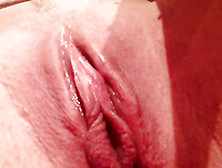 My Wife Made A Vid Of Her Own Pink Pussy Masturbation In Closeup