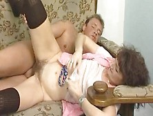 Old Maid Gets What's Cumming To Her - Julia Reaves