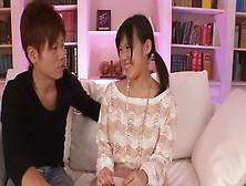 Adorable miyuki nonomura endures toy porn 2