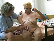 Mature Woman Took Off Her Clothes And Asked Her Nurse To Stimula