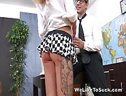 Leggy Skinny Chick Katrin Tequila Is Fond Of Thick And Aggressiv