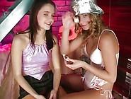 Skinny Lesbian Teen Toy Pussy Fuck Scene 2