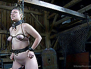 Big Booty Bondage Doll Nice Ass Getting Spanked In Bdsm