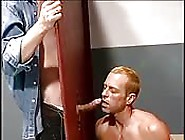 Horny Interracial Glory Hole