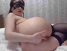 Russian Gal Atm On Webcam