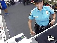 Big Ass Sexy Police Offices Posed Sexy In The Pawnshop Flaunting