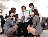 Japanese Girl With Beautiful Tits Enjoying A Hardcore Gangbang I