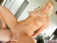 Horny Blonde Gets Fucked Hard Doggystyle