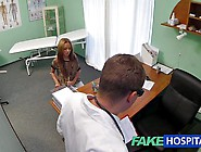 Wicked Teen Gets A Hardcore Anal Exam In The Doctor's Offic