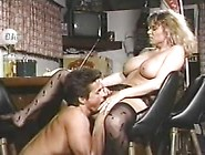 Peter Shoots Huge Load On Tracey's Big Boobs