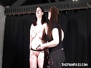 Alyss Extreme Lesbian Bdsm And Whipping To Tears Of Private Bbw