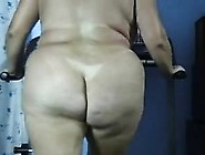 Adult Butt Naked Bigass Treadmill Exercise