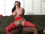 Awesome Mum Riding Black Cock