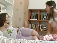 Teenagers Dusya And Madlen Like The Three Some Porn