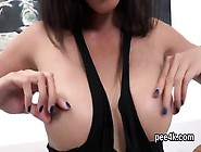 Enchanting Chick Is Peeing And Finger Fucking Trimmed Crack