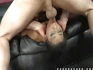 Smart Brunette Girl Hard Blowjob With Her Hot Boy Buddy Big Cock