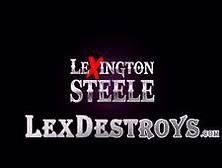 Hot Deep Throater Kendra Lust Sucks Lexington Steeles Big Cock V