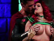Britney Amber With Huge Melons Enjoys Cock Sucking Too Much To S