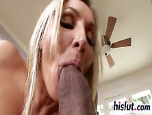 Ravishing Milf Pleasures A Monster Black Boner