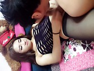 Chinese Sexy Tranny Surprises Bf At Home