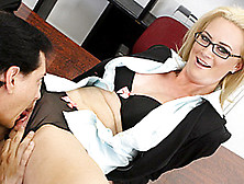 Horny And Horny Mature Cameron Intercourses Worker