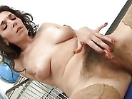Sexy Teen Fingers Her Hairy Pussy