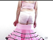 Pink Petticoat Strip