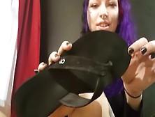 Dirty Flip Flop Licker (Goth Girl Humiliation)