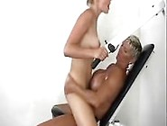 Body Building Big Tit Lesbian Loves To Strap On Fuck
