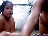 Busty Big Tit Latina Milf Uses Hitachi Pt1