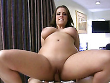 Incredibly Hot And Busty Brunette Goes For Meaty Dick
