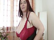 Busty Babe Zabrina Masturbating