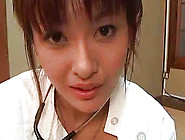 Nice Looking Japanese Nurse Is Swallowing Huge Schlong