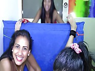 Pretty Latina Gets Her Attractive Feet And Rest Of The Body Tick
