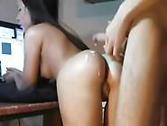 Cumming All Over Her Hot Ass