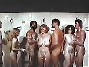 Vintage Shower Orgy