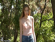 Young Hottie Milena Devi Touches Her Tits And Dildo Fucks Pussy