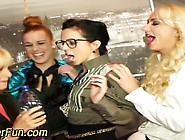 Lesbian Pissing Orgy And Pussy Toying