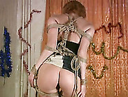 Hot Amateur Cougar Lady In Slutty Clothes Is Bonded