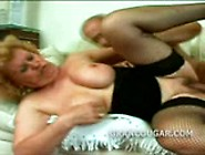 Blond Granny Cunt Pounded Before Blow Job