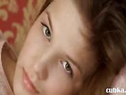 Petite Nineteen Girl Teasing Herself On Bed