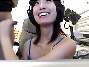 Sweet Player Asian Girl Doing It Well
