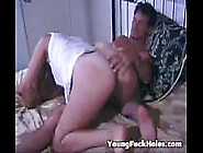 Young Cut Daughter Passion Fuck In Her Ass By Dad