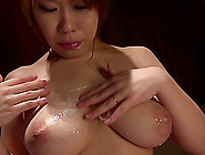 Covering A Hot And Busty Japanese Slut With Their Cum