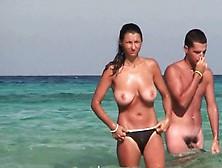 Good Boobs On The Beach