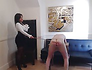 Headmistress Caning