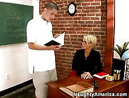 Kayla Synz Fucks Her Student