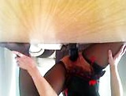 Hot Wife Rides A Huge Toy Dildo