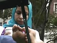 Hijab Toes Sexy Voyeur