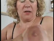 A German Bbw Granny Masturbates Herself Loudly!